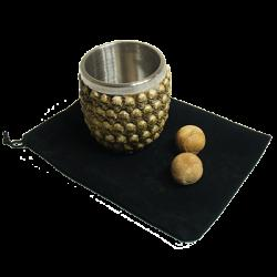 Sea of Skulls Chop Cup and Balls (Large ) by Mike Busby - Trick