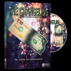 Changeling (DVD and Gimmicks) by Marc Lavelle and Titanas Magic - DVD