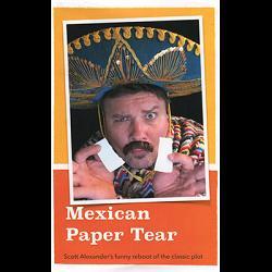 Mexican Paper Tear by Scott Alexander - Trick