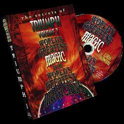 Triumph Vol. 2 (World's Greatest Magic) by L&L Publishing - DVD