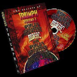 Triumph Vol. 3 (World's Greatest Magic) by L&L Publishing - DVD