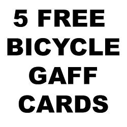 5 FREE BICYCLE PRINTED PLAYING CARDS FOR 52 SHADES OF RED