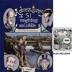 Adventures of 51 Magicians ( Book & Pamphlet ) by Angel Idigoras - Book