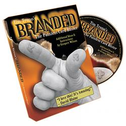 Branded (Mini and Regular Bic Gimmicks and DVD) by Tim Trono - Trick