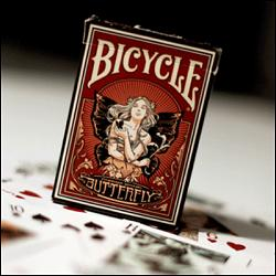 Butterfly Bicycle Deck by US Playing Card