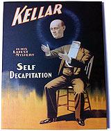 Kellar Canvas Poster 2 Framed