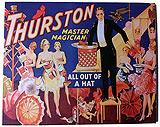 Thurston Poster 2 Canvas Framed