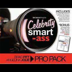 Celebrity Smart Ass Bundle (Brad Pitt & Angelina Jolie) by Bill Abbott