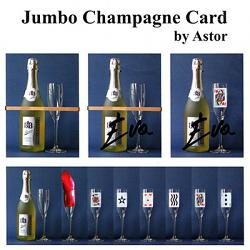Jumbo Champagne Card by Astor - Trick