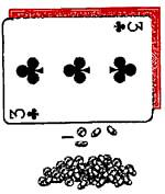 Coin Card (Red) by Danny Archer - Trick