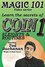 Coins Sleights 101 DVD