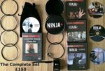 Ninja Plus Deluxe Set Black with 5 DVDs and tons of extras