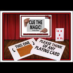Cue the Magic by Angelo Carbone - Trick