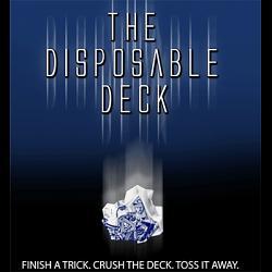 Disposable Deck 2.0 (blue) by David Regal - Trick