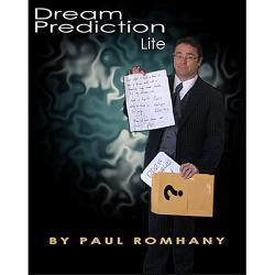 Dream Prediction Lite (Book, DVD, Props) by Paul Romhany - DVD