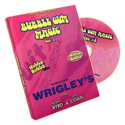 Bubble Gum Magic by James Coats and Nicholas Byrd - Volume 1 - DVD