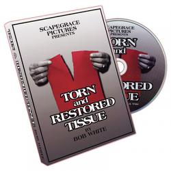 Torn And Restored Tissue by Bob White - DVD