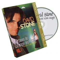 Basic Coin Magic - Vol.1 by David Stone - DVD