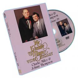 Greater Magic Volume 29 - Charlie Miller and Johnny Thompson - DVD