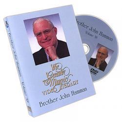 The Greater Magic Video Library Volume 38 - Brother John Hamman - DVD