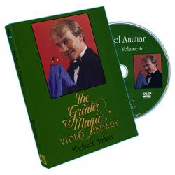 Greater Magic Volume 6 - Michael Ammar - DVD