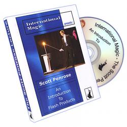 An Introduction to Flash Products by Scott Penrose and International Magic - DVD
