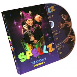Spellz - Season One - Volume One (Featuring Jay Sankey) by GAPC Entertainment - DVD