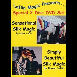 Sensational Silk Magic And Simply Beautiful Silk Magic by Duane Laflin Video DOWNLOAD