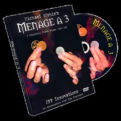 Menage A 3 (DVD and coins) by Michael Afshin and Roy Kueppers - DVD