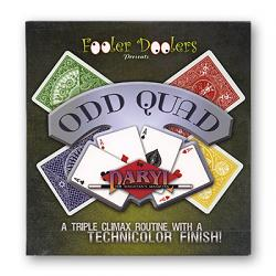 Odd Quad Cards and DVD  by Fooler Doolers