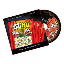 Powerball 60 (DVD, Gimmick, US Lotto) by Richard Sanders and Bill Abbott - DVD