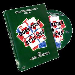 Quarterly Returns Torn and Restored Card by David Eldridge and Brad Burt - DVD
