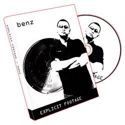 Explicit Footage: Benz by Sean Fields - DVD