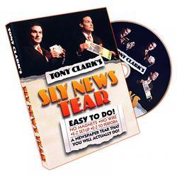 Sly News Tear by Tony Clark - DVD