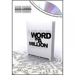 Word In A Million by Nicholas Einhorn and JB Magic- DVD