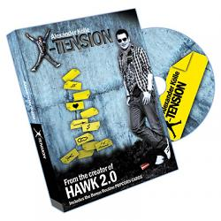 Xtension (DVD and Gimmick) by Alex Kolle - DVD