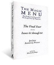 Final Four Magic Menu Book
