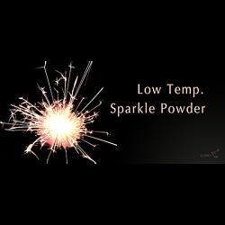 Low temperature sparkle  powder (10 grams.)- Trick