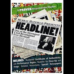 HEADLINE! (DVD and Gimmicks) by Murray Hatfield
