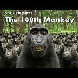100th Monkey (2 DVD Set with Gimmicks) by Chris Philpott - Trick