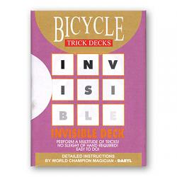 Invisible Deck Bicycle Mandolin (Red) - Trick