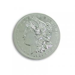 Jumbo 7 Morgan Chrome Dollar - Trick