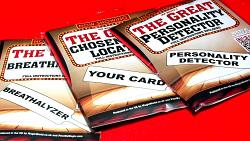 The Great Chosen Card Locator Paddle by MagicWorld