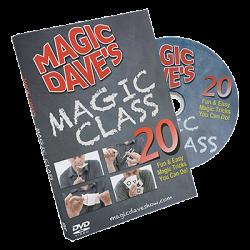 Magic Dave's Magic Class by David Williamson - DVD