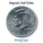 Magnetic US Half Dollar (SUPER STRONG) by Kreis Magic - Trick