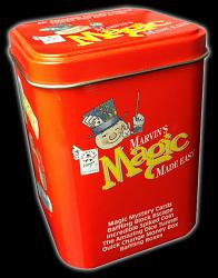 Limited Edition Marvins Magic Made Easy Tin