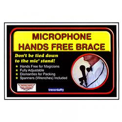 Microphone Hands Free Brace by Trevor Duffy - Trick