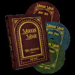 Modern Magic (3 DVD set) by Will Houstoun and RSVP Magic - DVD