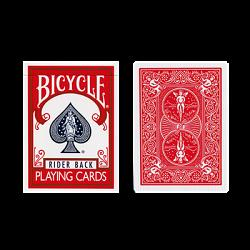 Red One Way Forcing Deck (Black and White Joker only)