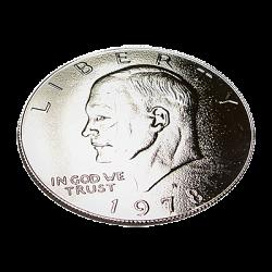 Kennedy Palming Coin (Dollar Sized)by You Want it We Got it - Trick